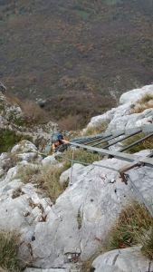 Ferrata ladder